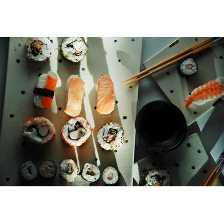 Zestaw  dla dwojga do sushi Dalmatyńczyk